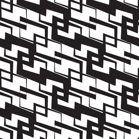 Abstract Seamless Monochrome Wallpaper Stock Vector - 21929417