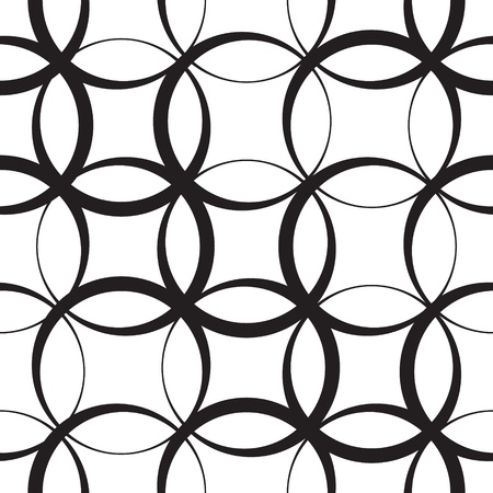 Abstract Seamless Monochrome Pattern Stock Vector - 21929418