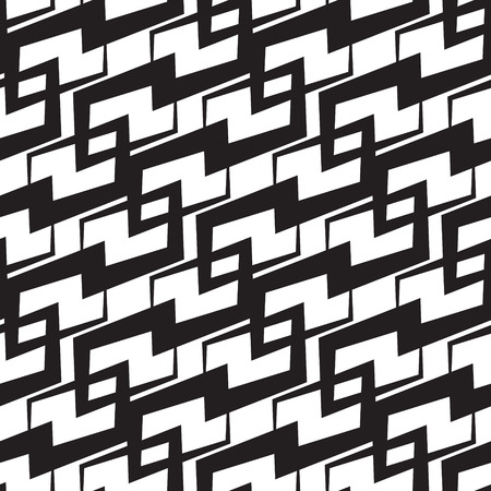 Abstract Seamless Monochrome Background Vector