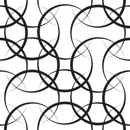 抽象的なシームレスな幾何学的なパターン  イラスト・ベクター素材