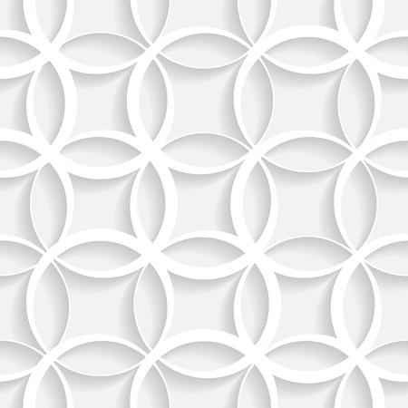 抽象的なシームレスな幾何学模様  イラスト・ベクター素材
