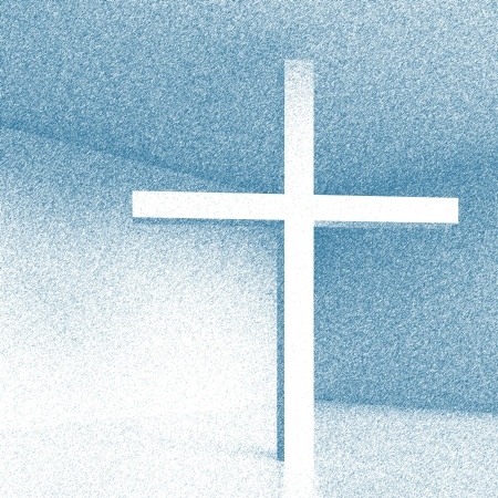 3d Illustration of Christian Cross illustration