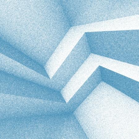 arquitectura abstracta: Fondo de arquitectura abstracta azul