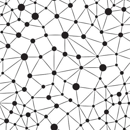 Nahtlose Hintergrund Neuron Standard-Bild - 23071593