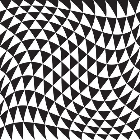 シームレスな三角形のパターン