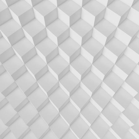 3d White Abstract Architecture Background Archivio Fotografico