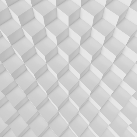 3d White Abstract Architecture Background Banque d'images