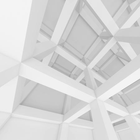 arquitectura abstracta: 3d Fondo Blanco Abstract Architecture