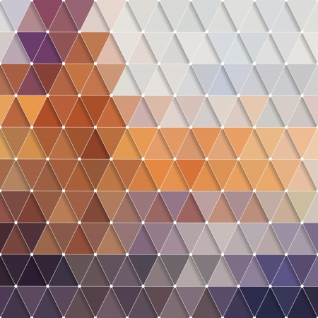 braun: Vector Abstract Colorful Triangles Background