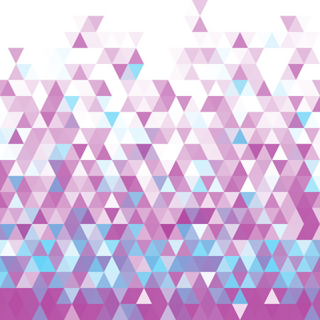 Vector Abstract Violet Geometric Background