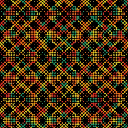 Vector Seamlees Abstract Dots Background Vector
