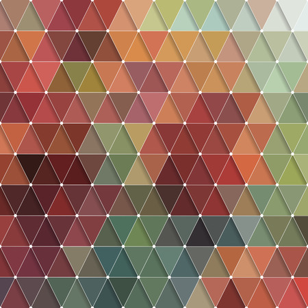braun: Vector Abstract Colorful Triangles Pattern