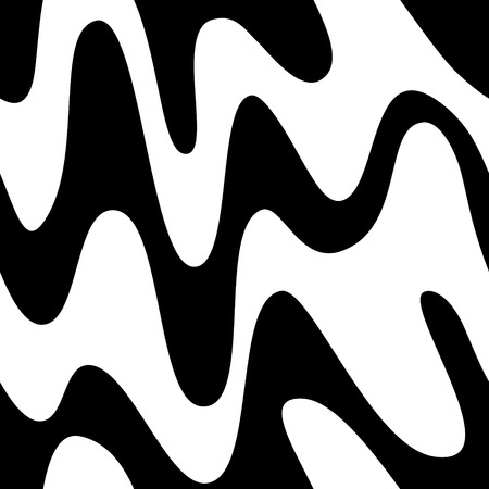 Vector Seamless Monochrome Abstract Design Vector