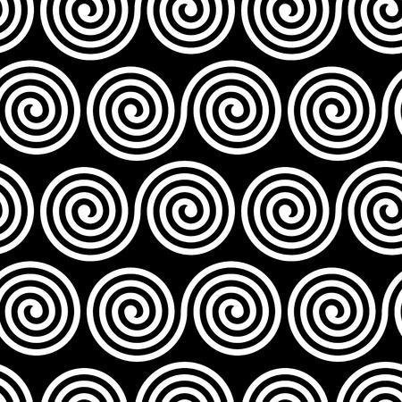 stripped: Vector Seamless Black and White Pattern