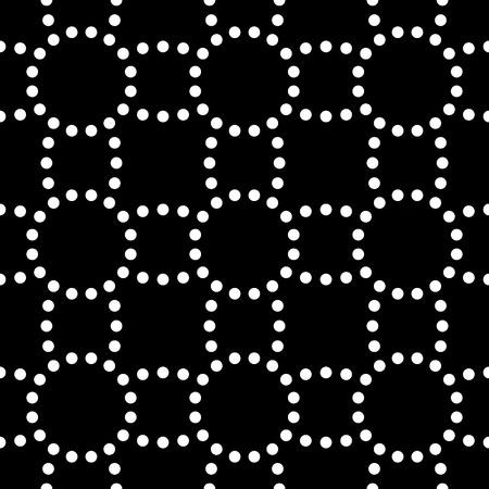 Vector Seamless Abstract Dots Background Vector