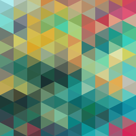 turquoise background: Vector Abstract Colorful Triangles Pattern  Illustration