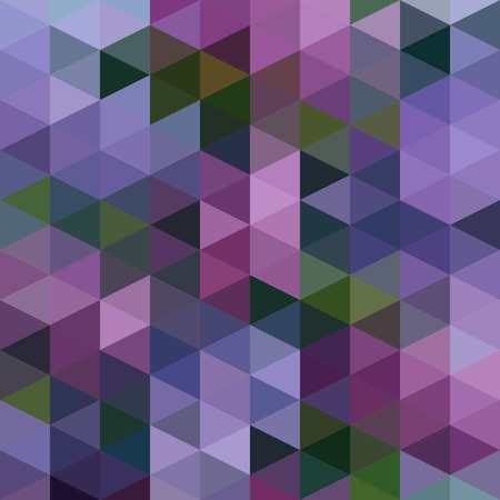 Vector Abstract Colorful Triangles Pattern Vector
