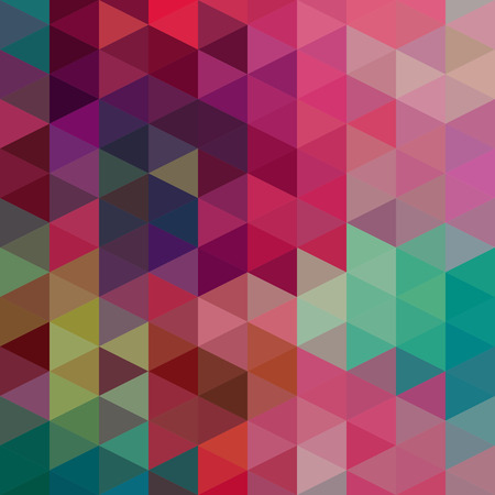 geen: Vector Abstract Colorful Triangles Pattern