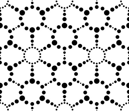 Vector Abstract Seamless Hexagon Pattern Vector