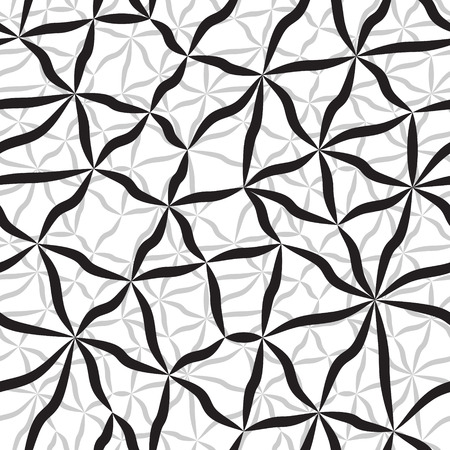 Vector Monochrome Seamless Microscopic Background Vector