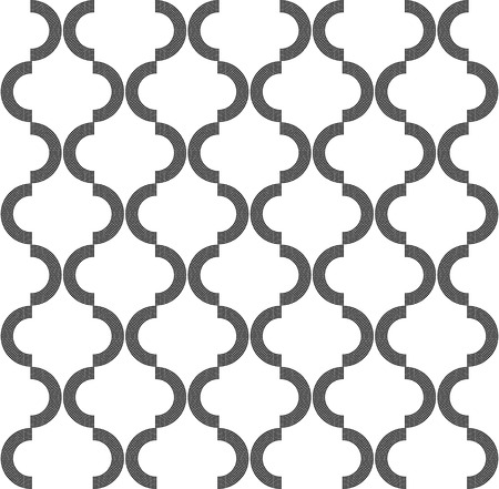 Vector Monochrome Seamless Damask Background
