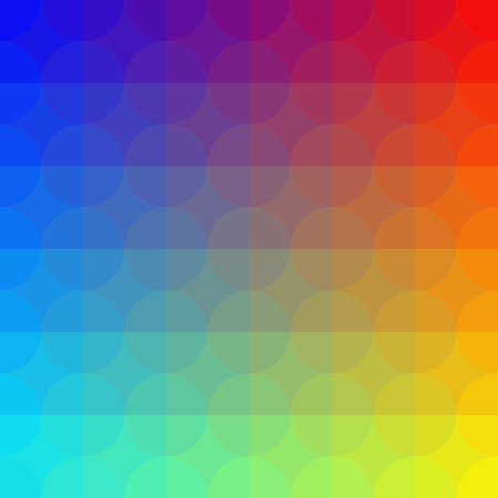 Vector Abstract Geometric Colorful Pattern Vector