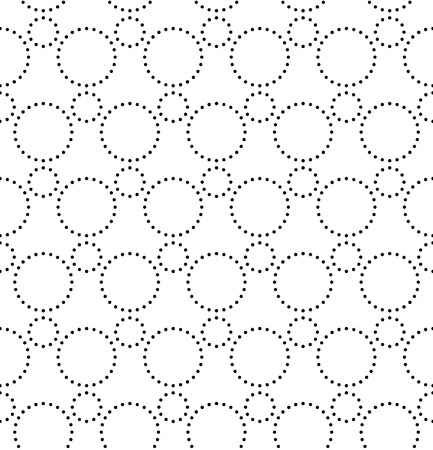 grid paper: Vecor Seamless Monochrome Geometric Pattern Illustration