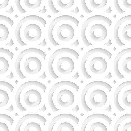 patron de circulos: Vector incons�til blanca los c�rculos Vectores