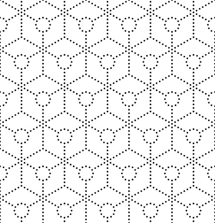 Vector Seamlees Abstract Hexagon Background Vector