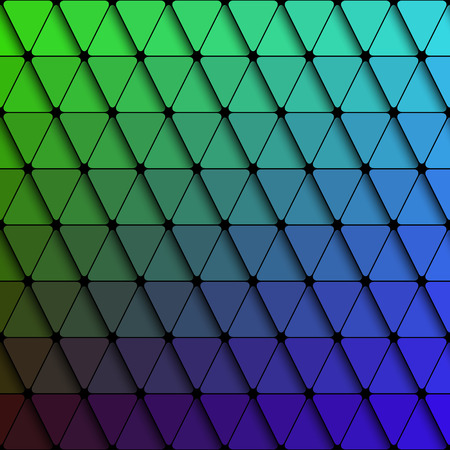 Vector Abstract Triangle Colorful Pattern Vector