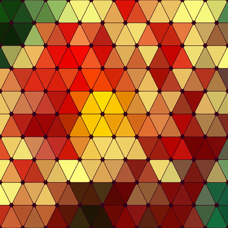Abstract Colorful Geometric Pattern Vector