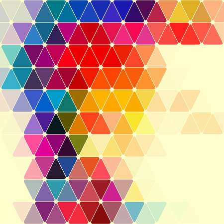 soft colors: Abstract Colorful Geometric Pattern