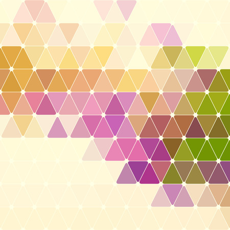 Vector Abstract Colorful Geometric Pattern Vector