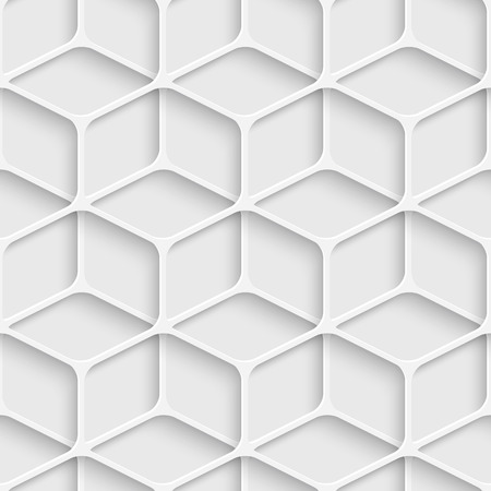 Vector Abstract Seamless Cube Pattern