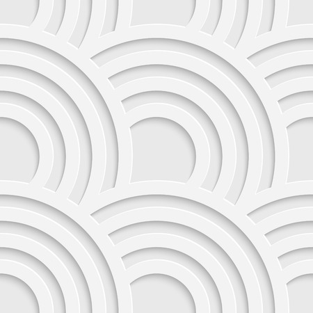 Vector Abstract Seamless Wave Pattern Ilustracja