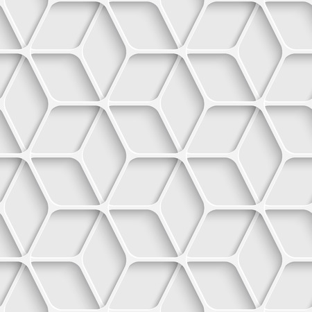 Vector Abstract Seamless Cube Background Vector