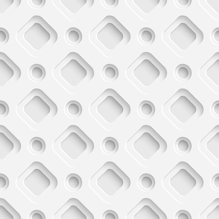 repeat structure: Vector Abstract Seamless Futuristic Pattern