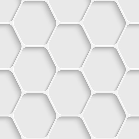 Vector Abstract Seamless Hexagon Background