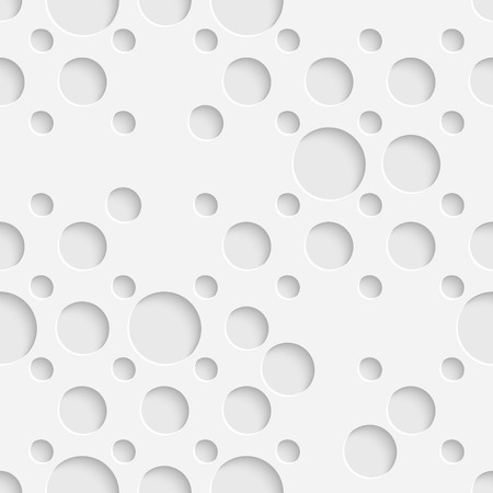 Vector Abstract Seamless Circle Background