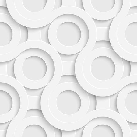 circle shape: Vector Abstract Seamless Disco Pattern Illustration