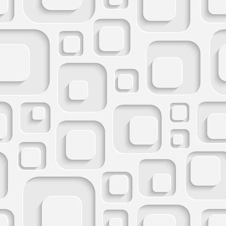 Abstract Seamless Squares Pattern Stock Illustratie