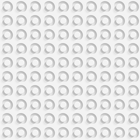 perforated: Vector Abstract Seamless Perforated Background