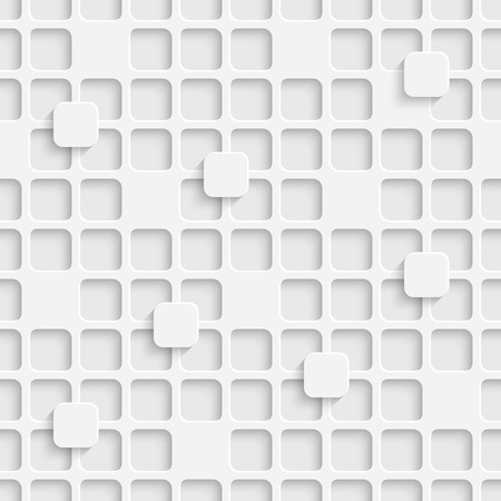 Vector Abstract Seamless Squares Pattern Stock Illustratie