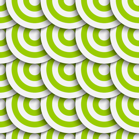Vector Abstract Seamless Geometric Pattern Vector