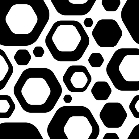 Vector Abstract Seamless Futuristic Background Vector