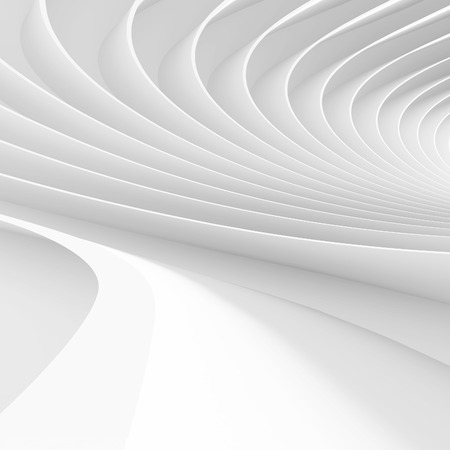 3d White Creative Technology Background