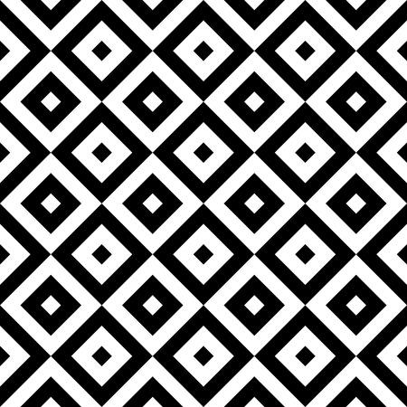 monochrome: Vector Monochrome Seamless Square Pattern
