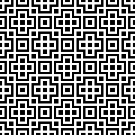 lattice: Vector Abstract Seamless Square Background