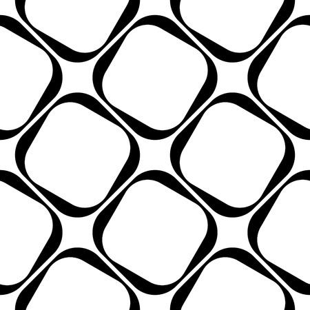 벡터 추상 원활한 사각형 패턴 일러스트