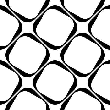Vector Abstracte Naadloze Patroon van Vierkanten